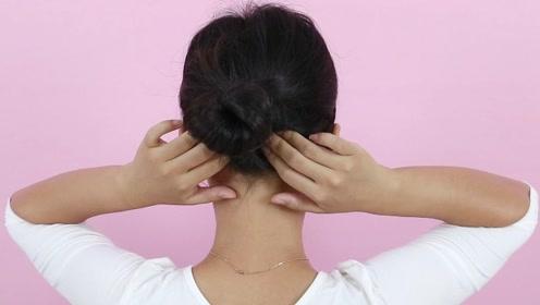 颈椎淤堵头痛头晕?两个位置疏通经络大脑轻松