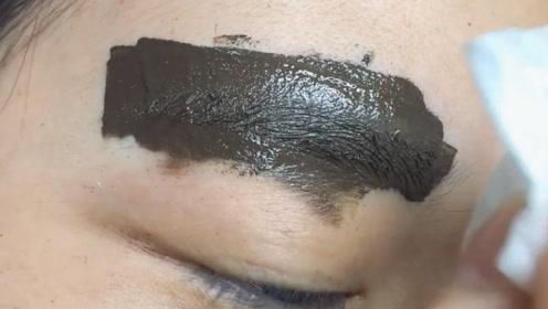 刚做的眉毛怎么是一坨的,这不会是纹坏了吧,太难看了
