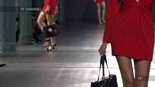 Luis Onofre2019春夏新品成衣秀,顶级超模演绎红色经典