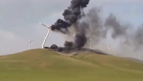 超大型风车怎么翻车