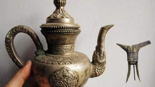 西汉铜壶里惊现千年玉液,据说喝一口就能升仙?专家:果香味!