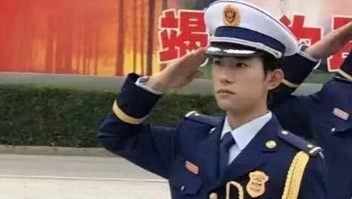 """易烊千玺入选校队""""国旗班"""",当看到证件照,粉丝表示无法自拔!"""