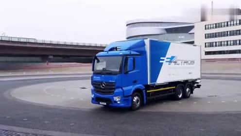 梅赛德斯eActros,-全电动卡车那叫一个霸气