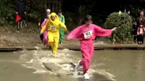 日本举行忍者大会,百人比赛忍术,分男子组女子组