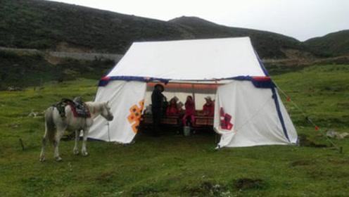 西藏风俗:路边的白色帐篷,为什么导游不让进,进去容易出来难
