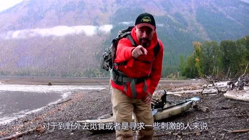 国外发明神奇背包,遇到危险一拉包带就能释放气体,专门对付危险动物!