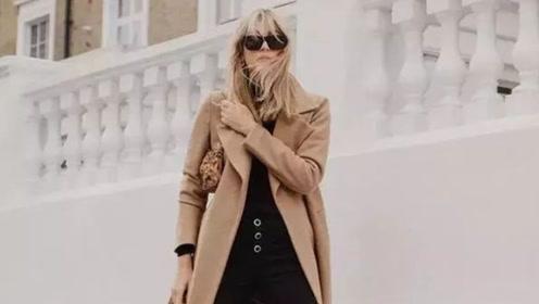 十个最美大衣穿搭技巧,让你这个冬天美成风景