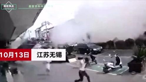 官方通报无锡小吃店爆炸,致6人死亡