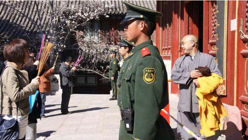 中国地位最高寺庙,寺内藏有两大奇珍异宝,武警24小时看守!
