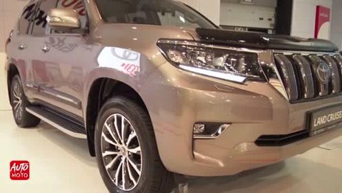 2020款丰田普拉多4x4登场,外观和内饰实拍