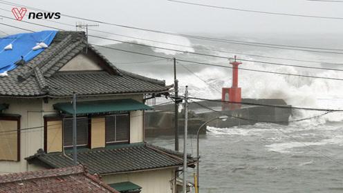 超强19号台风袭日本,已造成19人死亡14人失踪