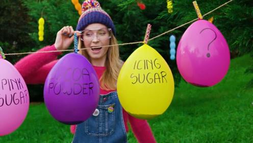气球也能做蛋糕?看看老外是怎么弄的!大多数人都说涨知识了