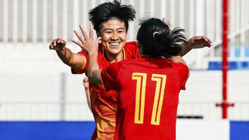 开门红!军运会中国女足3-0韩国队,杨丽梅开二度