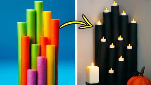 趣味玩玩:彩色蜡烛随心玩