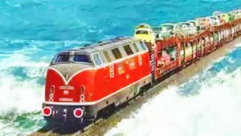 广州到海南没有桥梁,火车线路是如何开通的?方式令世界都震撼了!