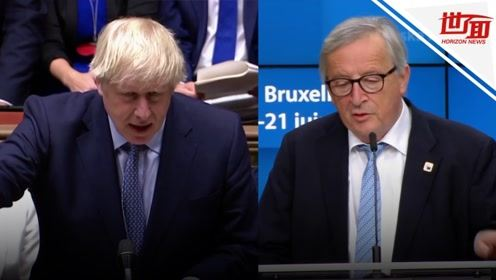 """欧盟与英国达成新""""脱欧""""协议 英首相:我们拿回了主动权"""