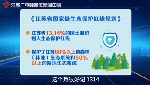 一生一世!江苏13.14%的国土面积划入生态保护红线|黄金时间