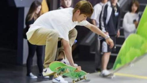 王一博翻车系列合集,节目表演人板分离,却帅不过三秒!