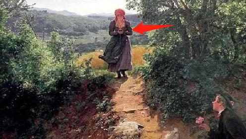 """150年前创作的油画,为何会出现""""苹果手机""""?今天总算弄明白"""