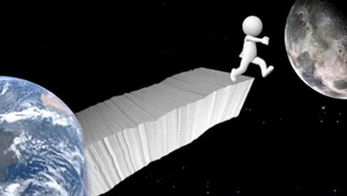 """人站在一张""""对折""""103次的纸,会到达哪里呢?科学家:会超过整个宇宙!"""