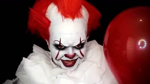 国外女子仿妆秀:美妆打扮成的小丑你觉得像吗?