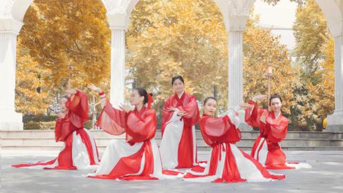 绝代芳华!许嵩的《惊鸿一面》遇到古典舞,古风之美展露无疑