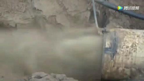 德国在地下铺设大型夯管全过程,这技术真是让人不得不服!