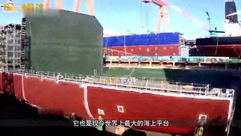 """震撼中国竟造出""""海洋怪物""""比航母大8倍欧美看直了眼"""