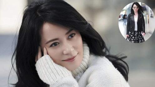 48岁俞飞鸿有多好看 素颜现身也不怕 低调搭配照样美丽