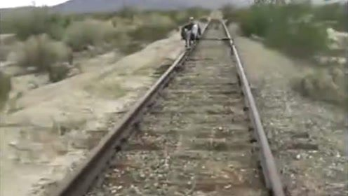 老外发明的铁路单车,再也不愁买不到车票了
