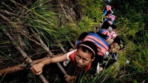 世界上最牛的村庄:72户人家在悬崖上居住,就在我国四川!