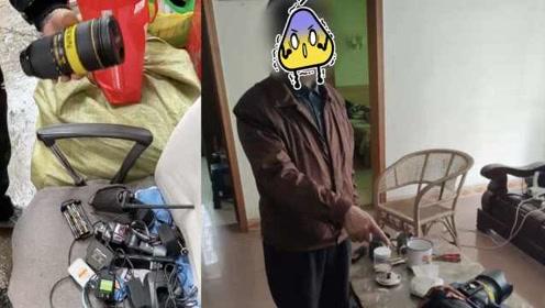 四川一男子盗窃10万元单反设备配件,5块9毛钱当场卖给废品站