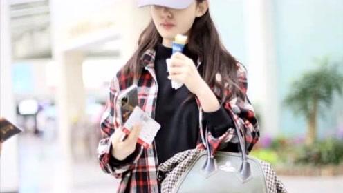 """林允专心吃冰淇淋暴露吃货属性 素颜穿""""睡衣""""舒适随性"""