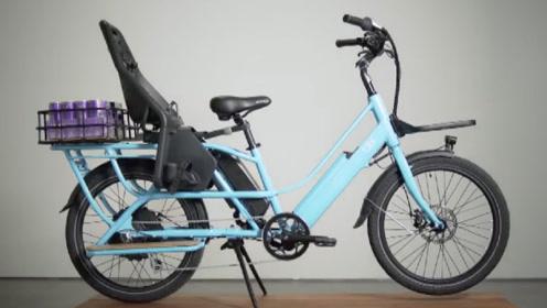 国外推出一款货物电动自行车,解决人们的出行痛点,满满的黑科技!
