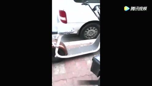 谁能告诉我这电动车电池在哪?
