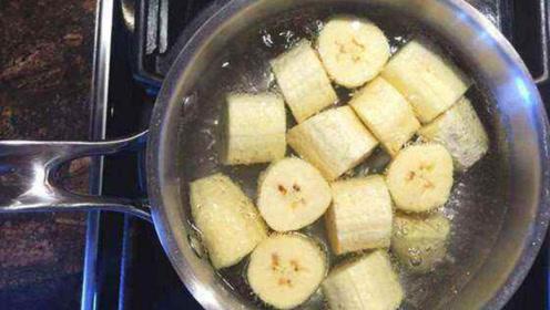 香蕉和它这样吃,效果太棒了!感冒咳嗦都不见,省钱又实用