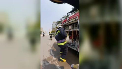 烈火英雄!你从没见过的消防员工作第一视角!