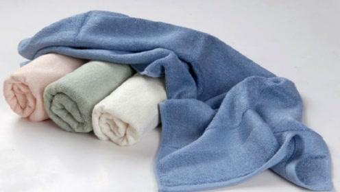 毛巾变硬湿黏有异味?不要着急,教你这3招轻松解决!