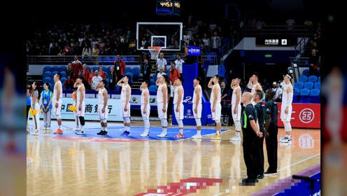 军运会男篮小组赛 中国队轻取蒙古国队