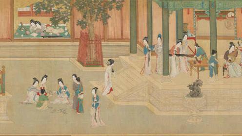 台北故宫让仇英名画动了起来:《汉宫春晓图》绘后宫佳丽百态