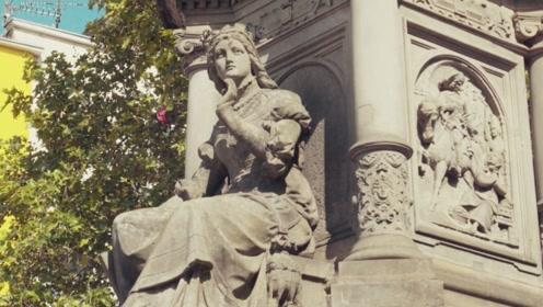 德国:老集市广场 聆听300年前卖花女的故事