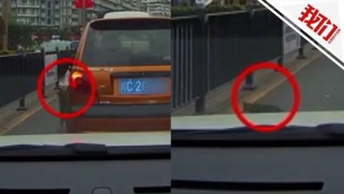 前车突然向窗外扔出一个活物 民警一问原因让人哭笑不得