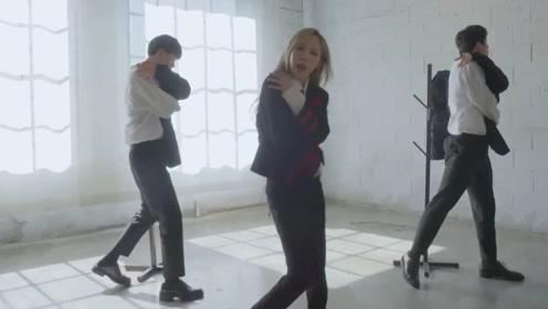 玟星《Mirror+Moon》舞蹈视频 玟总太攻了!