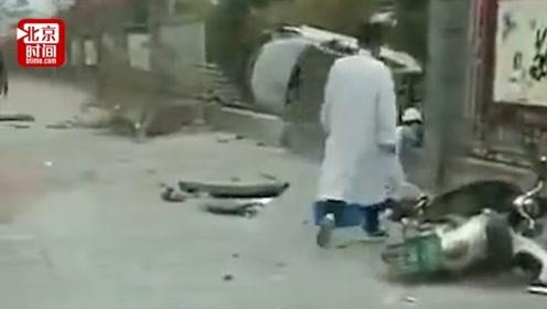 桂林夫妻开车追逐致2死1伤 一扶贫干部在工作途中遇难