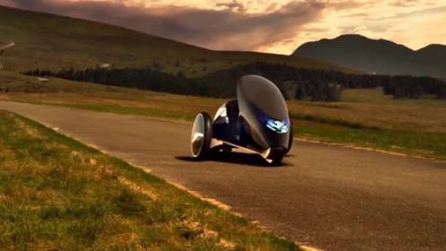 未来汽车不用方向盘?新型智能汽车,利用身体移动控制方向