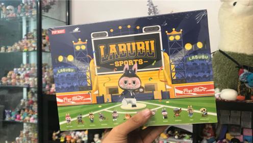 拆一款labubu运动会端盒,真的很可爱呀!