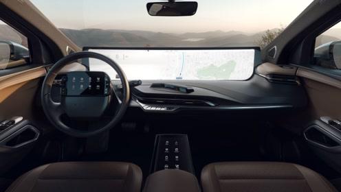 电动车搭载48寸全面屏 确定还能好好开车?