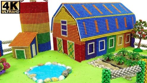 手工DIY:用巴克球制作微型农场,声音也太好听了!