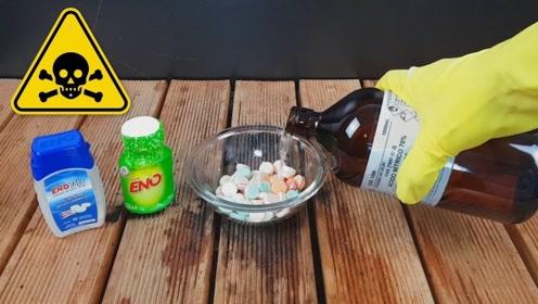 化学实验 :浓硫酸的威力有多大?看到实验结果,网友:太可怕了!