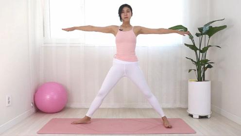 腰部赘肉这样练习,每天左右强化30组燃脂,还能缓解便秘和排毒图片